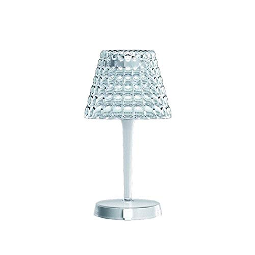 Guzzini Tiffany LED Cordless tafellamp PMMA A batterij draadloos, transparant