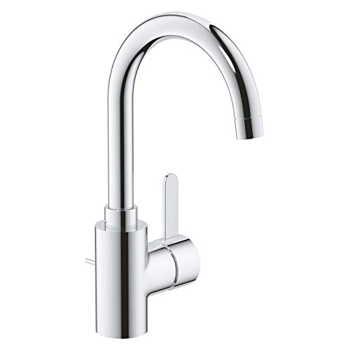 GROHE Eurosmart Cosmopolitan | Badarmatur - Einhand-Waschtischbatterie, mit Ablaufgarnitur | chrom | 32830001