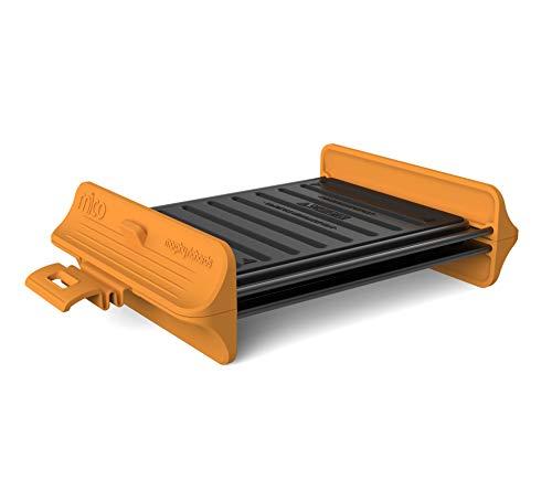 Morphy Richards 511646 Mico Grill Kochgeschirr für die Mikrowelle, Silikon und beschichtetes Metall, Orange