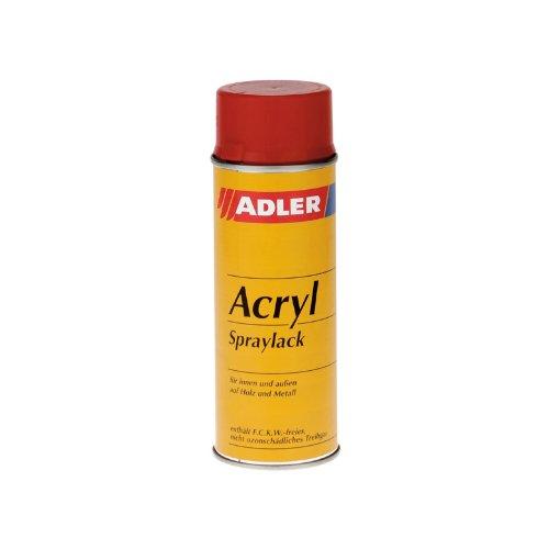 ADLER Acryl-Spraylack - 400 ml- Sprühlack Farblos glänzend hochwertiger Acryllack farblos für innen und außen, rasch trocknender und nicht vergilbender Lackspray