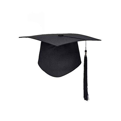 Allayu Escuela de graduación borlas Cap Sombrero de graduación Birrete Universidad Licenciatura Maestro Médico Académico Sombrero