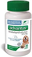 Advantus Flea Soft Chews for Large Dogs 23-110lbs, 30 Count, 30 CT