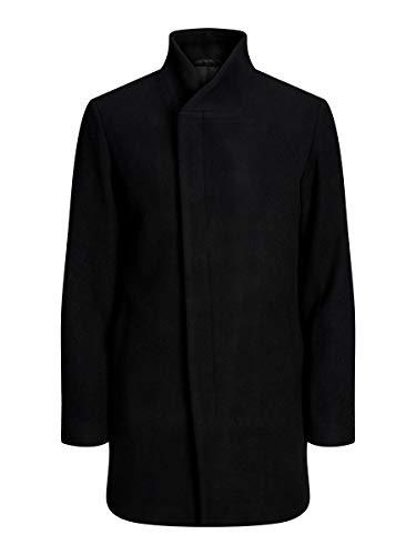 JACK & JONES Herren 12154586 Mantel, Schwarz (Black Black), X-Large (Herstellergröße: XL)