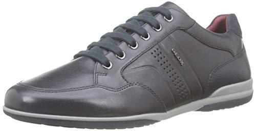 Geox U Timothy B, Zapatos de Cordones Derby Hombre, Azul (Navy C4002), 41 EU