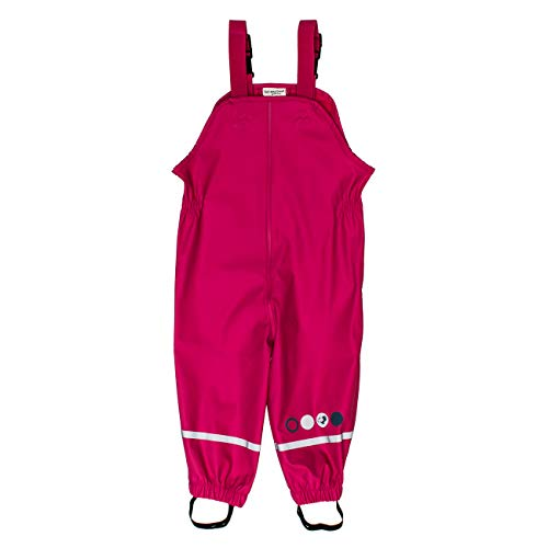 SALT AND PEPPER Salt & Pepper Mädchen Trousers RB B Girls Uni Regenhose, Pink (Pink 870), (Herstellergröße: 92)