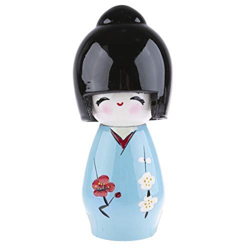 Lachineuse Kokeshi japanische Puppe, Zealith – Weichheit und Gelassenheit