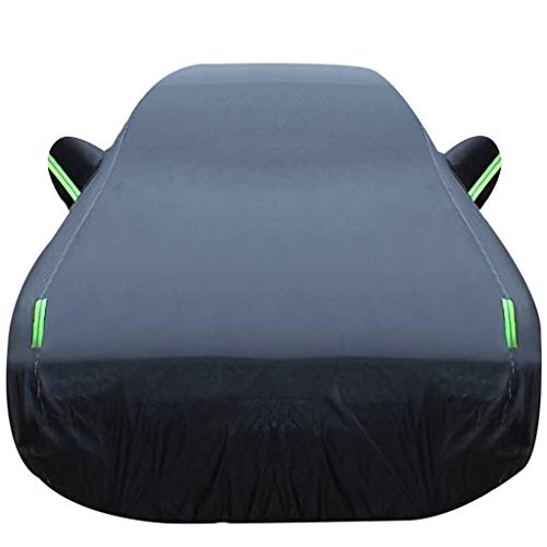 XLLH-YY Car-Cover/Kompatibel mit Audi A5 / Fit Limousine Außen Full Cover Regen Sonnenschutz mit Reißverschluss Baumwolle in voller Car Cover Outdoor Car-Cover Breathable Car Cover