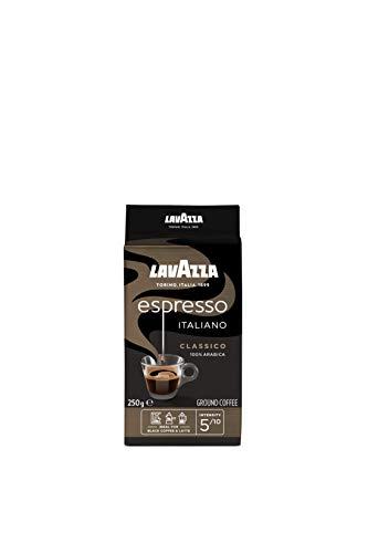 Lavazza Gemahlener Kaffee - Caffè Espresso - 100 % Arabica - 5er Pack ( 5 x 250 g)
