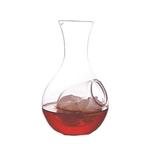AEDFD 400ml kleine wijn Decanter Ice Pocket helder water Pitcher glas karaf