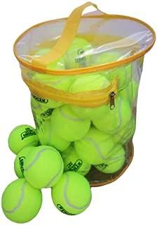 HOS SPORTS 24 Tennis Balls Super Bounce Balls With Bag (100% Better Bounce Than Normal Balls)