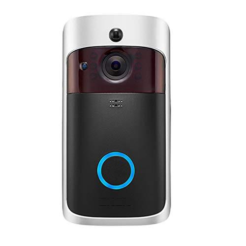 JSX Intelligente IP Video Citofono, Video WiFi 2.4G Telefono del Portello Campanello per Porte WiFi Macchina Fotografica del Campanello di...