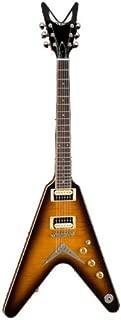 Dean V 79 Electric Guitar, Set Neck Trans Brazilburst