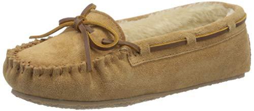 Minnetonka Women's Cally Slipper,Cinnamon,9 M US
