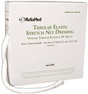 ZG701NB - ReliaMed Tubular Elastic Stretch Net Dressing, X-Small 5-3/8 x 25 yds. (Finger, Toe and Wrist)
