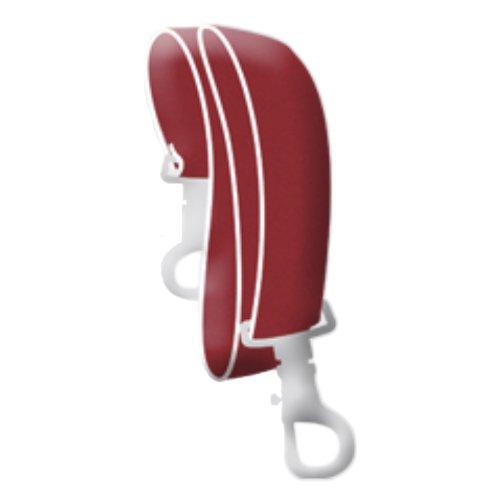 activera Krückenband für Gehhilfen Krücken und Unterarmgehstützen rot