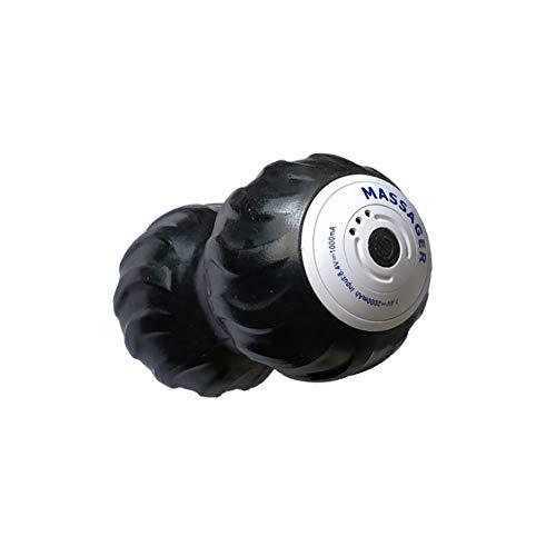 Clicke Vibrierender Massageball Peanut,3 Gang High Intensity Yoga Fitness Elektrische Massagerolle Für Myofaszial Verspannung Und Triggerpunkttherapie.