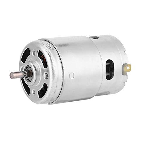 DC 12V-24V 895 Motor, 12V 3000 RPM Micro DC Motor Doble rodamiento de Bolas Alta Velocidad Bajo Ruido Alta Potencia DC Motor Driver Micromotor