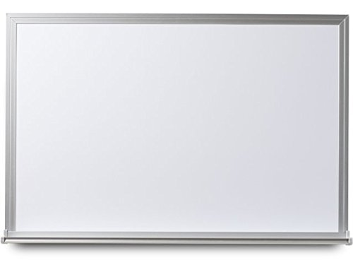 EverWhite Non-Magnetic Aluminum Framed Board with Tray, 4' Height x 10' Length (N7100-4X10)