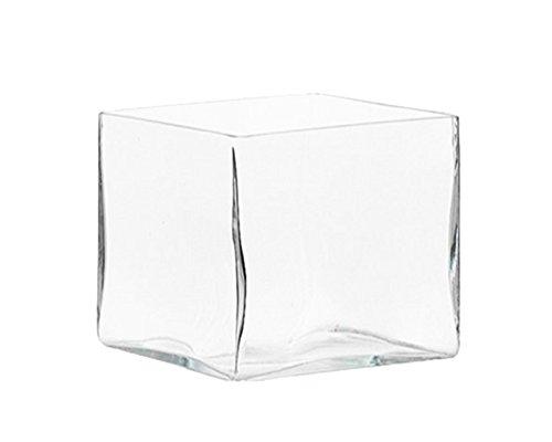 Cube en verre 25x 25cm