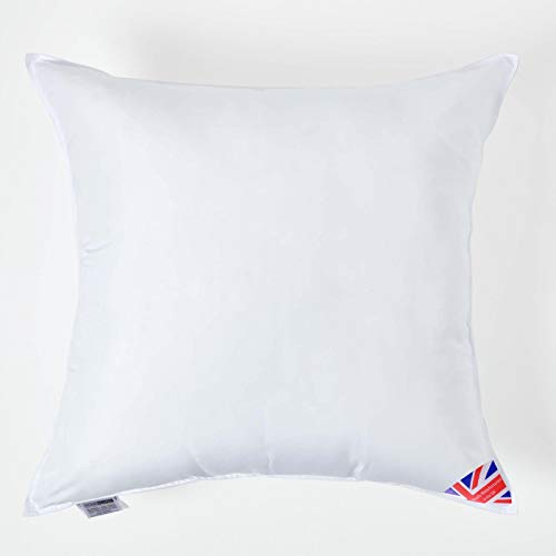 Homescapes Super Microfibre Cushion Pad 66 x 66 cm (26 x 26') Inner Insert Hypoallergenic Synthetic Cushion Filler Machine Washable
