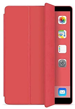 Smart Case C/ Função Sleep Para Ipad Air 3 De 10.5 2019 - Vermelho