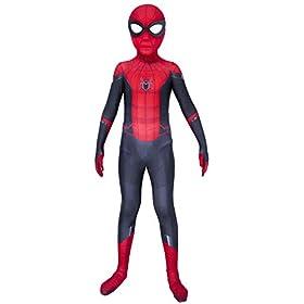 Riekinc Superhero Zentai Bodysuit Halloween Kids Cosplay Costumes