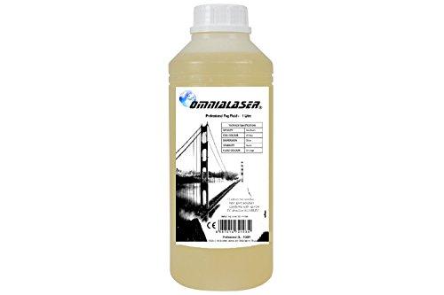 OmniaLaser OL-FOGP1 Liquido Professional Adatto per Tutte Le Macchine del Fumo 1 Litro