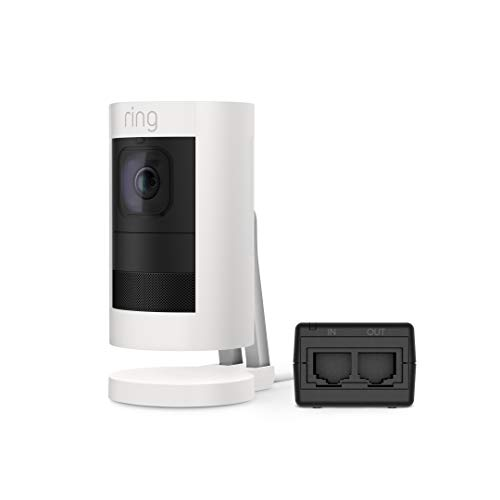 Ring Stick Up Cam Elite, Power over Ethernet HD Security Camera with Two-Way Talk, Night Vision,...
