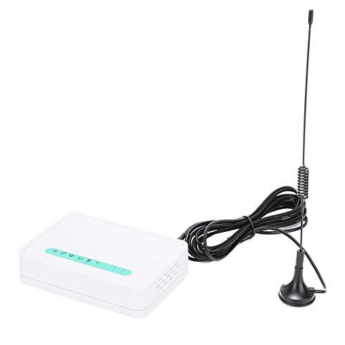 Terminal inalámbrico GSM Teléfono fijo, Sistema de seguridad de alarma Llamador con pantalla LCD Detector automático incorporado Detector para teléfonos fijos, Alarmas(EU)