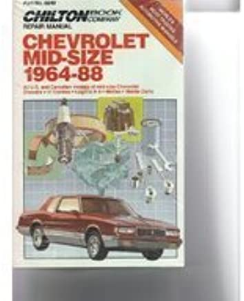 Chevy Mid-Size Cars, 1964-88 (Chilton Model Specific
