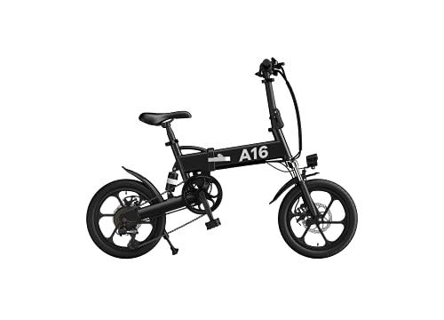 ADO 16 Inch Electric Folding Bicycle A16 Shimano 7 speed 350W Power