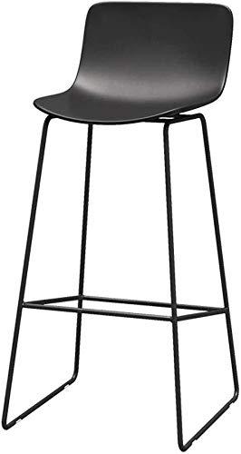 Barkruk, keuken, hoge stoel van hout, modern, minimalistisch, Europese kruk, moderne stoel, smeedijzer, stoel, geschikt voor keuken, eetkamer, stoel, zwart, restaurant, kantoor