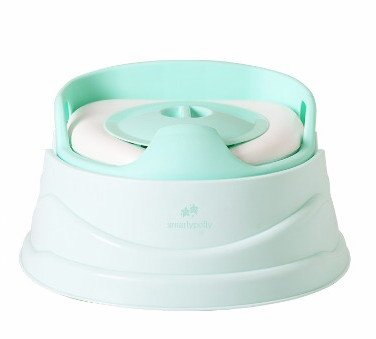 Potty Training System Mint Green Easy Potty 3-in -1 with Removable Bowl for Hassle Free Cleaning – Best for Potty Training Toddler or Baby – Colorful & Comfortable Potty Suitable for Travelling