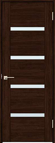 ラシッサS 標準ドア ASTH-LGR 錠付き 0620 W:734mm × H:2,023mm 吊元:右吊元 本体色/枠色:クリエダーク(DD) 枠種類:ノンケーシング180(壁厚:146-160) 沓摺:なし 把手:サークルB 鍵種類:丸型簡易錠 LI