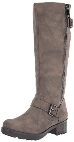 WHITE MOUNTAIN womens Blackbird Fashion Boot, Stone, 6.5 US