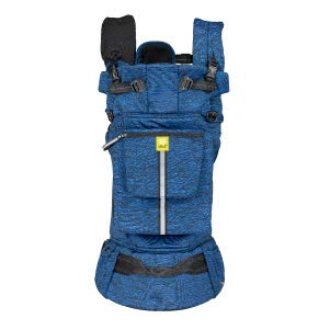 LÍLLÉbaby Pursuit Pro SIX-Position Customizable Baby & Child Carrier with Lumbar Support, Heathered Sapphire