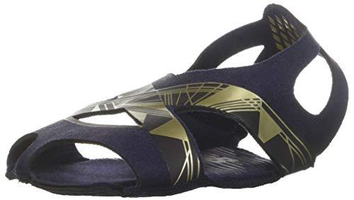 New Balance Women's Studio Skin V2 Cross Trainer, Pigment/Metallic Gold, XSmall Medium US