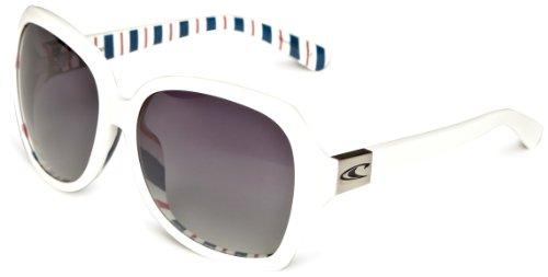 O 'Neill Tamarindo Unisex Sonnenbrille Einheitsgröße weiß gestreift