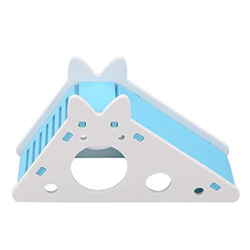Colorido Pet House Hamster con escalera y toboganes Hogar de madera sin...