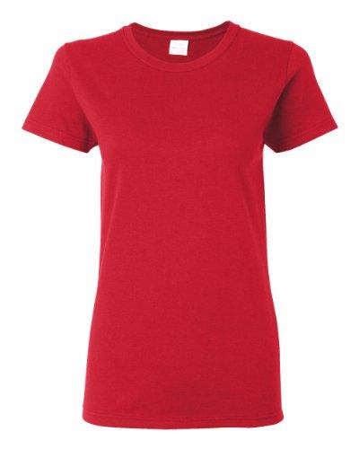 Gildan Heavy Cotton T-Shirt, Red, Medium