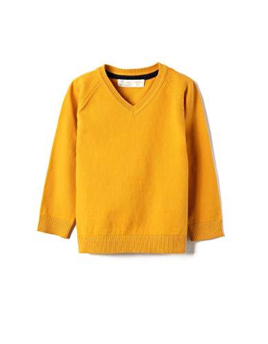 ZIPPY Baby-Jungen ZTB0201_470_8 Polo-Pullover, Miner. Yellow 15-1046 Tc, 24/36M