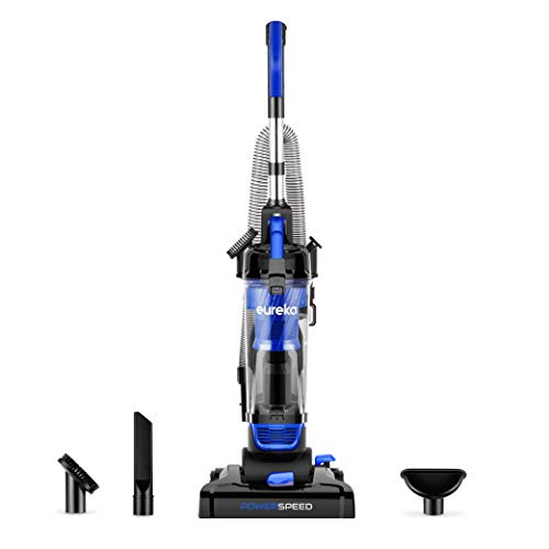 Eureka PowerSpeed Lightweight Powerful Pet Upright Vacuum Cleaner, for Carpet and Hard Floor, Suction with Upgrated Cyclone, New Model