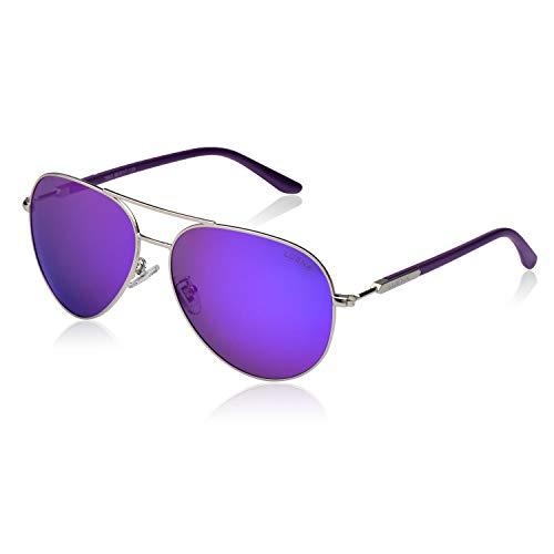 Mens Aviator Sunglasses for Womens, Polarized Lens