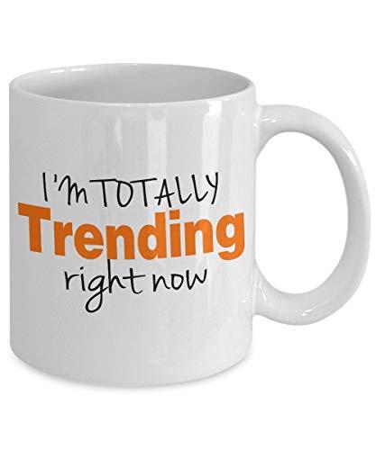 Xuanwuyi Social Media Geschenk, personalisierte Tasse, Kaffeetasse, Blogger-Tasse, Instagram Facebook-Tasse, Youtuber, Hashtag-Tasse, 325 ml
