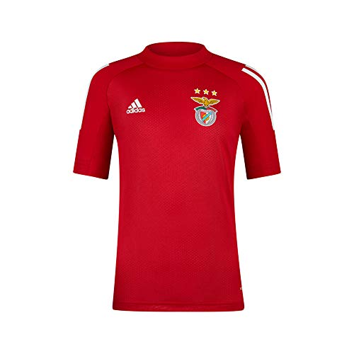 adidas SL Benfica Red Training T-Shirt 2020-21 For Kids, Unisex niños, 128