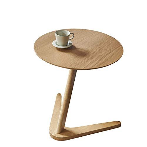 Couchtisch Couchtisch Kreativ Massivholz Rund Couchtisch Wohnzimmer Sofatisch Fußtisch Kleiner Couchtisch Beistelltisch (Farbe: B)