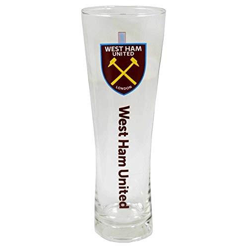 West Ham United Official Football Crest Tall Pint Glass