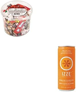 kitofx00013qkr15054–Valueキット–Izze Beverage Co Fortified Sparkling Juice ( qkr15054)とオフィスSnaxソフトAmp ; Amp ; Chewy Mix ( ofx00013)