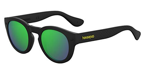Havaianas TRANCOSO/M Z9 O9N 49 Occhiali da Sole, Nero (Black/Grey), Unisex-Adulto