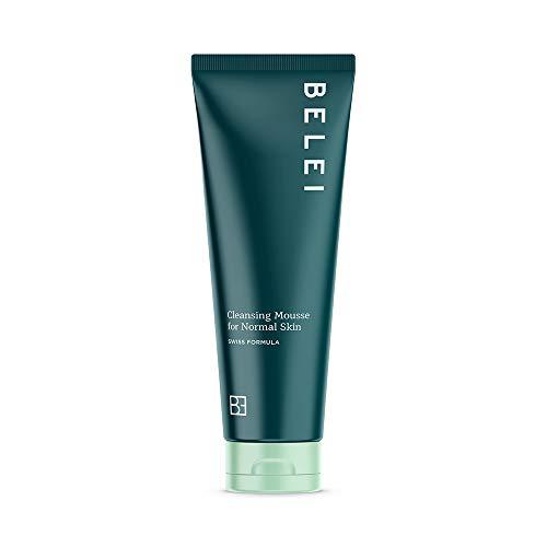 Marca Amazon - Belei Espuma limpiadora para pieles normales, 125ml